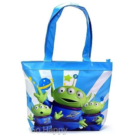 Disney【歡樂三眼怪】PU防水袋