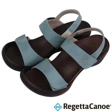 RegettaCanoe _(女款)CJLW-5501優雅樂步休閒鞋-湖水藍