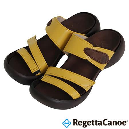 RegettaCanoe _(女款)CJEG-5223優雅樂步休閒鞋-芥末黃