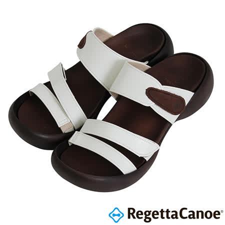 RegettaCanoe _(女款)CJEG-5223優雅樂步休閒鞋-白色