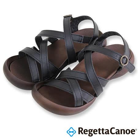 RegettaCanoe _(女款)CJFD-5308優雅樂步休閒鞋-經典黑