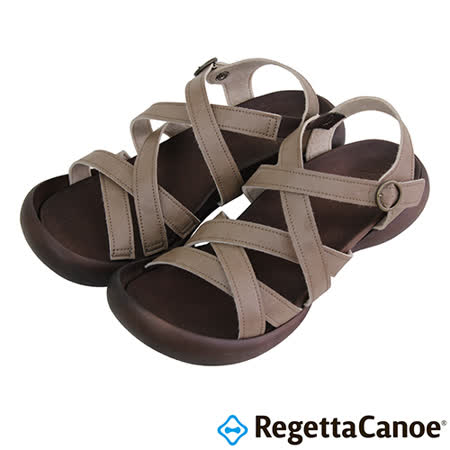 RegettaCanoe _(女款)CJFD-5308優雅樂步休閒鞋-淡褐色