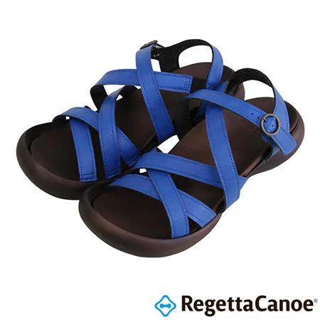 RegettaCanoe _(女款)CJFD-5308優雅樂步休閒鞋-寶藍色