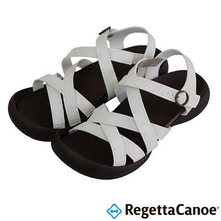 RegettaCanoe _(女款)CJFD-5308優雅樂步休閒鞋-象牙白