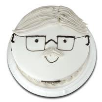 現貨+預購【台灣鑫鮮】幸福爹地臉譜蛋糕5吋