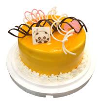現貨+預購【台灣鑫鮮】夏日芒果淋面蛋糕5吋