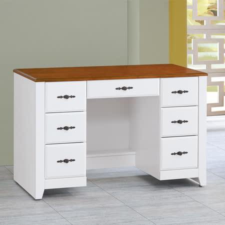HAPPYHOME 泰豐白色4.2尺書桌UZ6-281-3