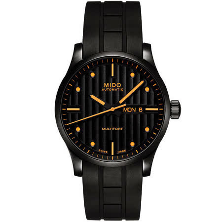 MIDO Special Edition先鋒系列典藏大三針腕錶-黑/42mm M0054303705180