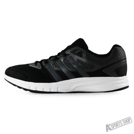 ADIDAS (男) 愛迪達 GALAXY 2 M 慢跑鞋 黑白-AF6688