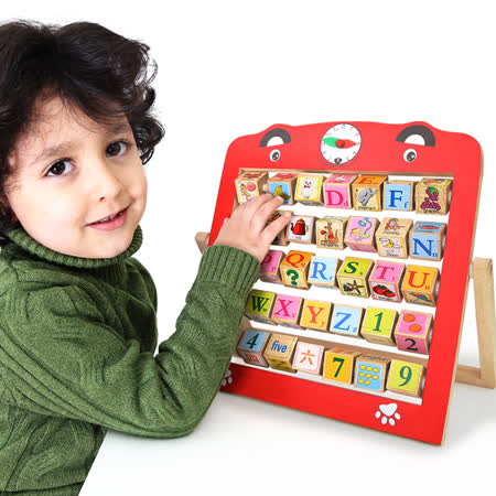 【FunKids】英文字母&數字翻版學習架