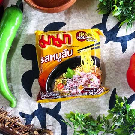 【MAMA】泰國肉碎味麵