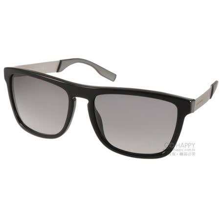 HUGO BOSS 太陽眼鏡 男士精品率性經典款 (黑-銀) #HB0563S FB8EU