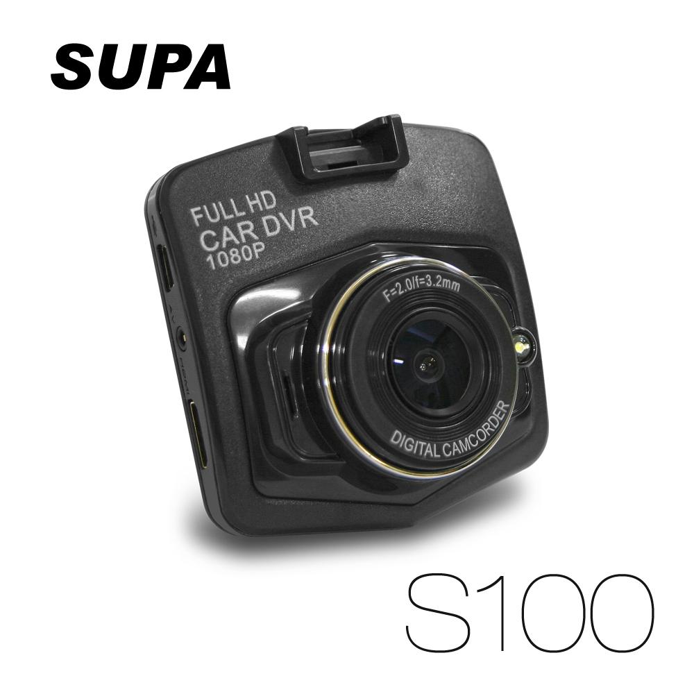 速霸 S100 Fu行車紀錄器停車錄影ll HD 1080P 停車監控 120度廣角 行車記錄器 (送16G TF卡)
