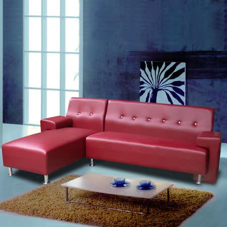【真心勸敗】gohappy線上購物【MNJ】菲爾斯獨立筒沙發256cm(暗紅)價格遠東 百貨 股份 有限 公司