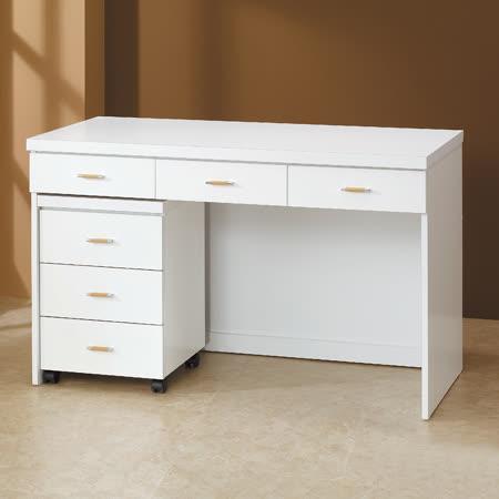 HAPPYHOME白色4尺書桌5U6-218-1643