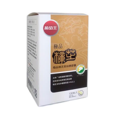 加贈康寧耐熱玻璃保鮮盒【葡萄王生技】極品樟芝王250粒 (2入)