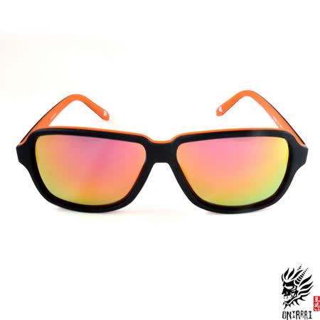 【ONIARAI鬼洗】反光太陽眼鏡-橘色002-C1