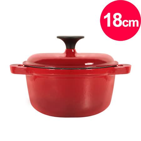 清水 琺瑯鑄鐵湯鍋18CM