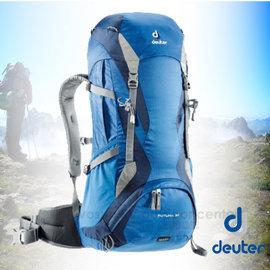 【德國 Deuter】 Futura 32L 網架透氣健行登山背包.休閒旅遊.自助旅行背包.後背包_ 34254 藍/深藍