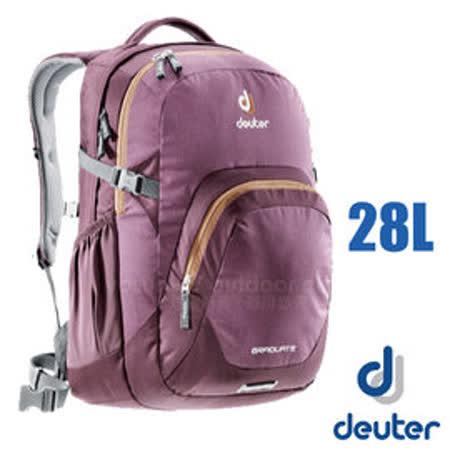 【德國 Deuter】GRADUATE 休閒背包28L.雙肩後背包.旅行包.登山健行旅遊包.自助旅行 .露營_80232 深紫