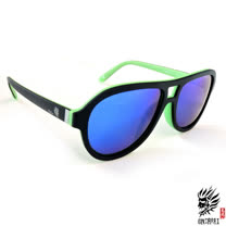 【ONIARAI鬼洗】反光太陽眼鏡-綠色003-C1
