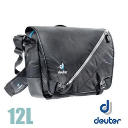 【德國 Deuter】LOAD 側背包12L.郵差包.通勤.公事包.休閒包.書包.輕量.耐用.方便_85053 黑
