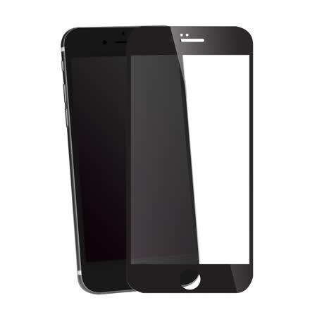 BEARBOSS x PGL+ 聯名款 iPhone 6/6s 2.5D 滿版強化玻璃保護貼 (黑色)