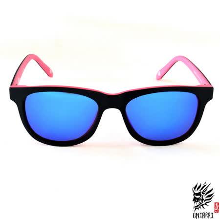 【ONIARAI鬼洗】反光太陽眼鏡-粉紅色006-C3