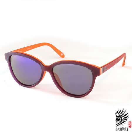【ONIARAI鬼洗】反光太陽眼鏡-暗紫色007-C3