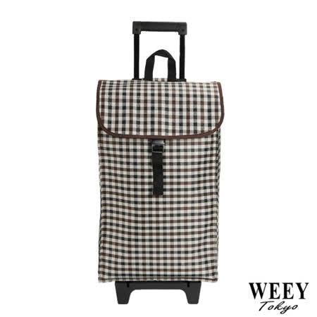 WEEY 時尚輕巧購物車、菜籃車、載運車 (典雅格紋) 96D2