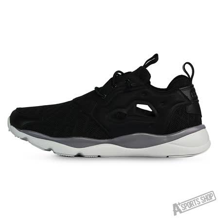 REEBOK (男) 銳步 FURYLITE TM 休閒鞋 黑白-V67734