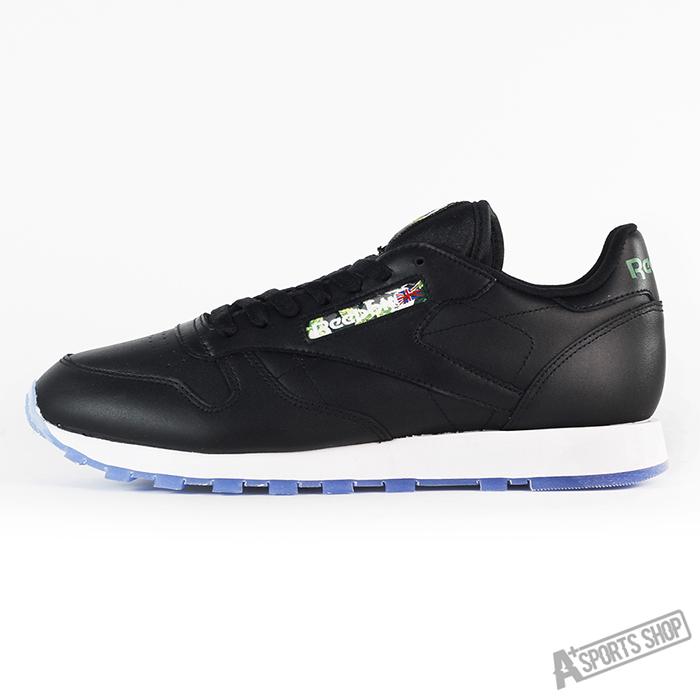 REEBOK (男) 銳步 CL LEATHER SF 休閒鞋 黑白-V67859