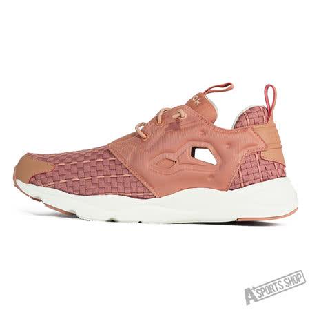 REEBOK (女) 銳步 FURYLITE NEW WOVEN 休閒鞋 紅-V68870