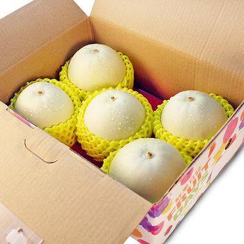鮮果日誌 嘉義特級美濃瓜 3.5斤禮盒裝