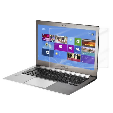 D&A ASUS ZenBook UX303/UX305 (13吋)日本原膜HC螢幕保護貼(鏡面抗刮)