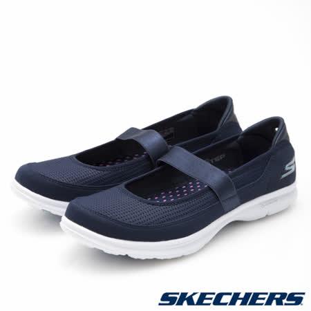 SKECHERS (女) 健走系列 GO STEP - 14213NVLB