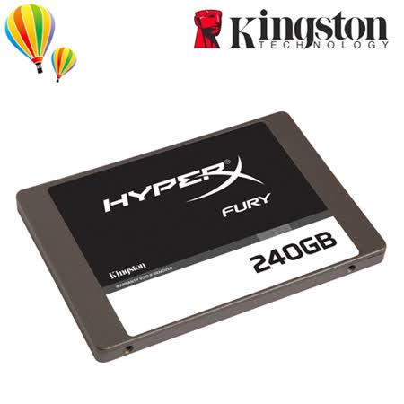 Kingston 金士頓 HyperX FURY 240GB SSD 固態硬碟 SHFS37A/240G