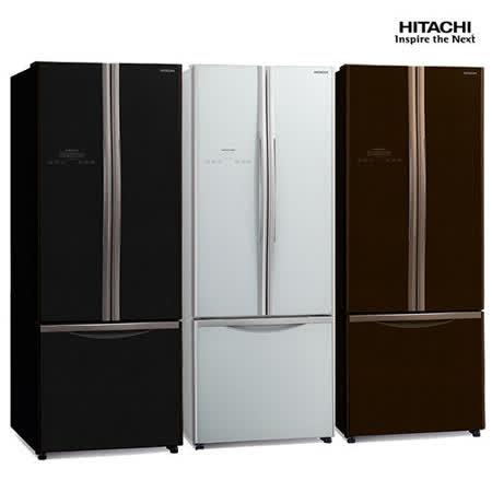 【結帳優惠價】日立421公升三門變頻冰箱RG430
