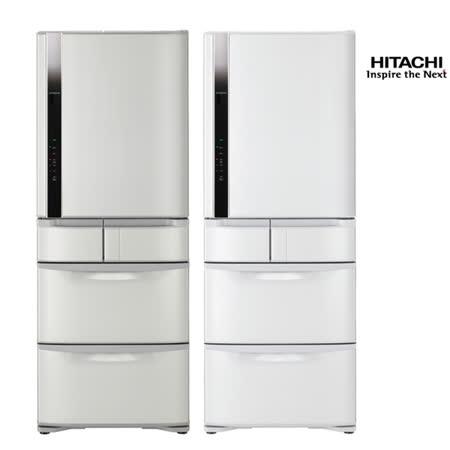 領券再折$1750【夜】HITACHI日立477公升日本原裝一級變頻真空冷藏五門冰箱RS49FJ