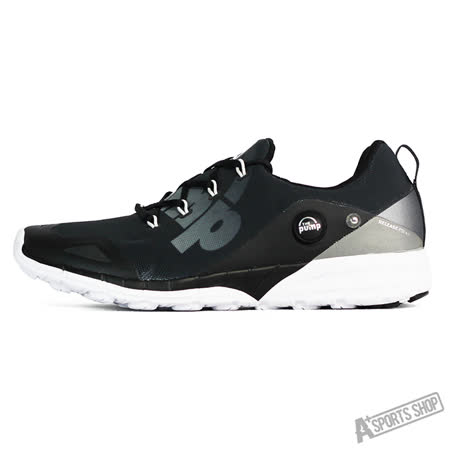 REEBOK (男) 銳步 ZPUMP FUSION 2.0 ELE 慢跑鞋 充氣 黑白-V72551