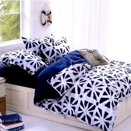 美夢元素 多米尼克 天鵝絨涼被床包組 雙人加大四件式