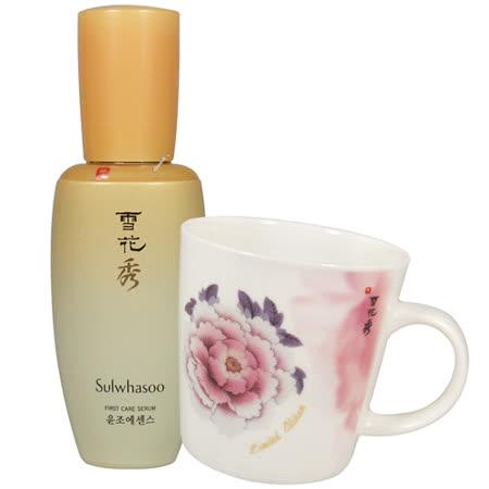 Sulwhasoo雪花秀 潤燥精華(120ml)[特大版]送牡丹彩繪限量版馬克杯