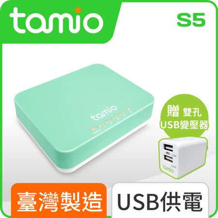 TAMIO S5-USB供電Giga網路交換器