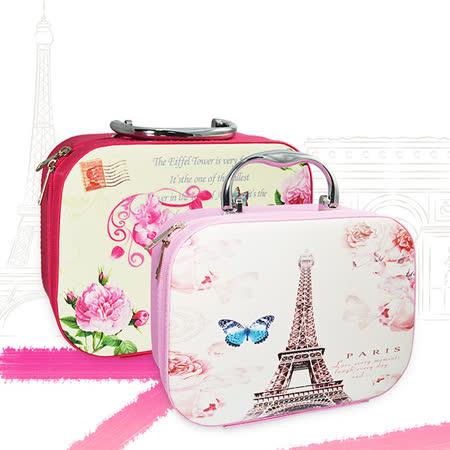 韓版手提子母化妝箱/化妝品收納包(共兩種款式)