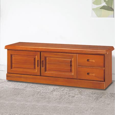 HAPPYHOME 樟木色4尺坐鞋櫃5U6-233-431