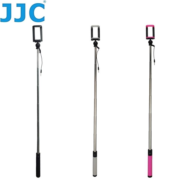 JJC SS~80手持 棒^(含手機夾和快門按鈕 長約80cm^)