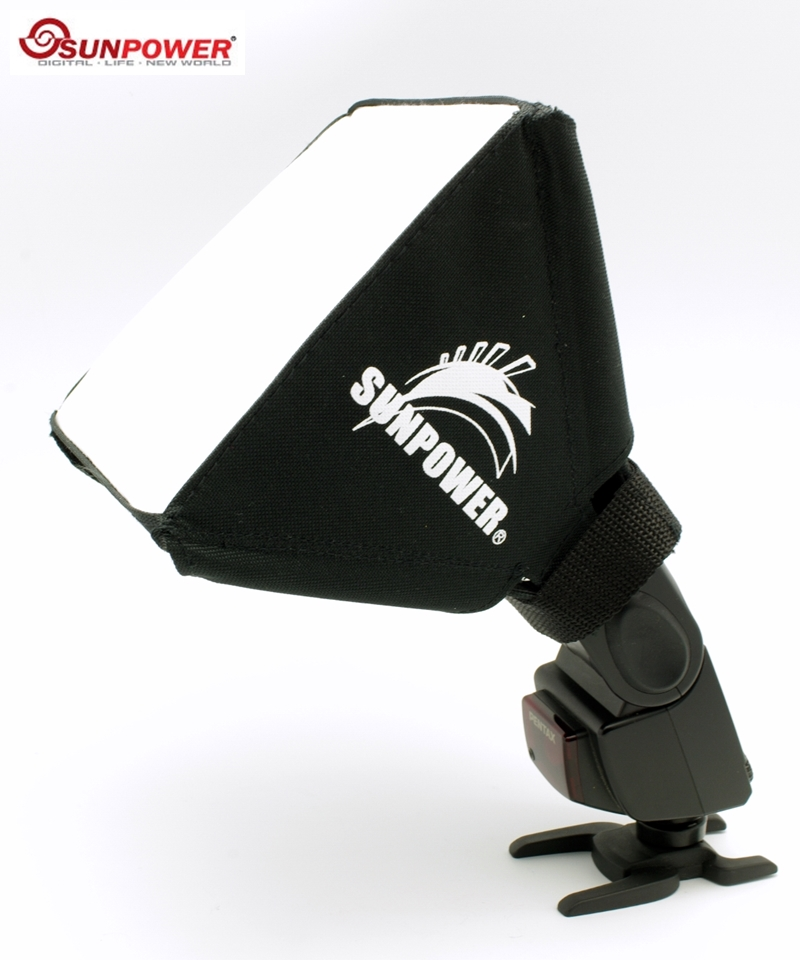 SUNPOWER機頂閃光燈柔光罩SP2522小號 ^( 總代理 湧蓮 貨^)