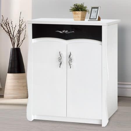HAPPYHOME 白色2.5尺鞋櫃5U6-240-2