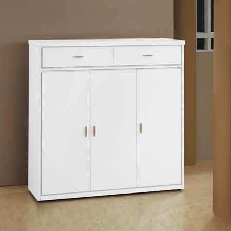 HAPPYHOME 白色4尺鞋櫃5U6-240-1264