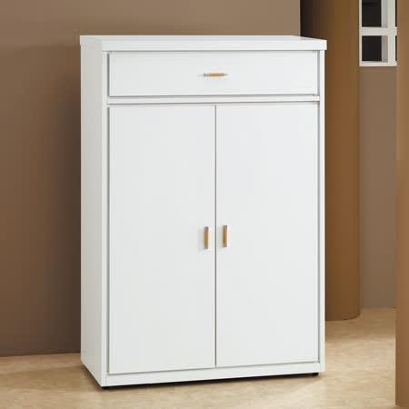 HAPPYHOME 白色2.7尺鞋櫃5U6-240-1265